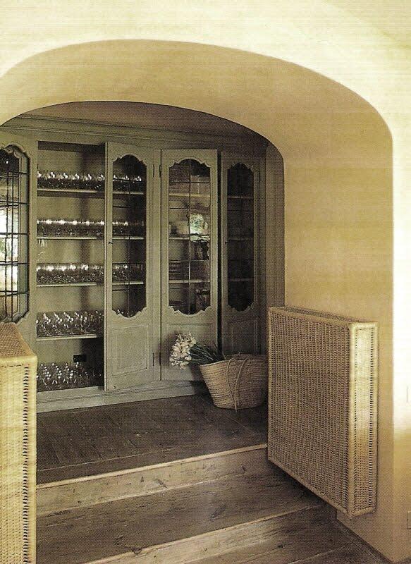 Beautiful Storage via Cote Sud Magazine, edited by lb for linenandlavender.net