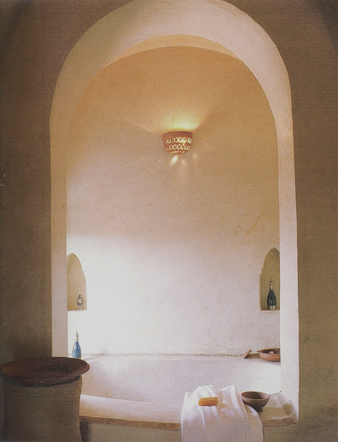 Ultimate Bathrooms Design, teNeues, arched alcove bath edited by lb for linenandlavender.net