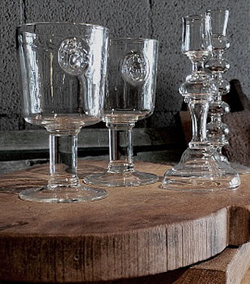 Astier de Villate glassware, photo from Trove, as seen on (l&amp;l)