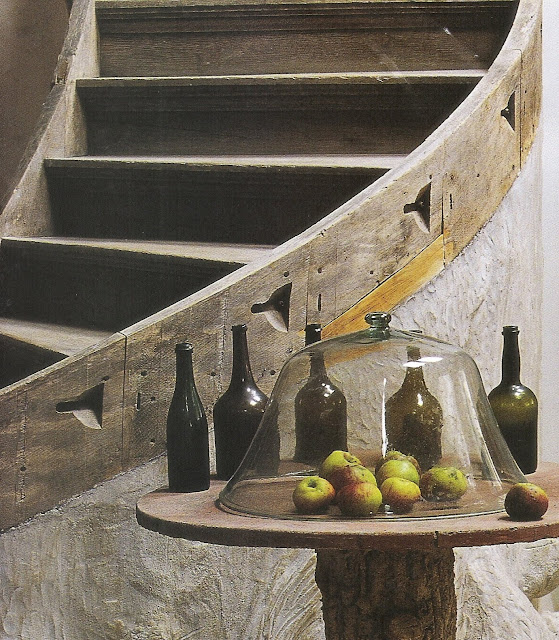 """Of Country Life"" image via Maisons Côté Est Magazine edited by lb for linenandlavender.net, post: http://www.linenandlavender.net/2009/10/design-daily.html"