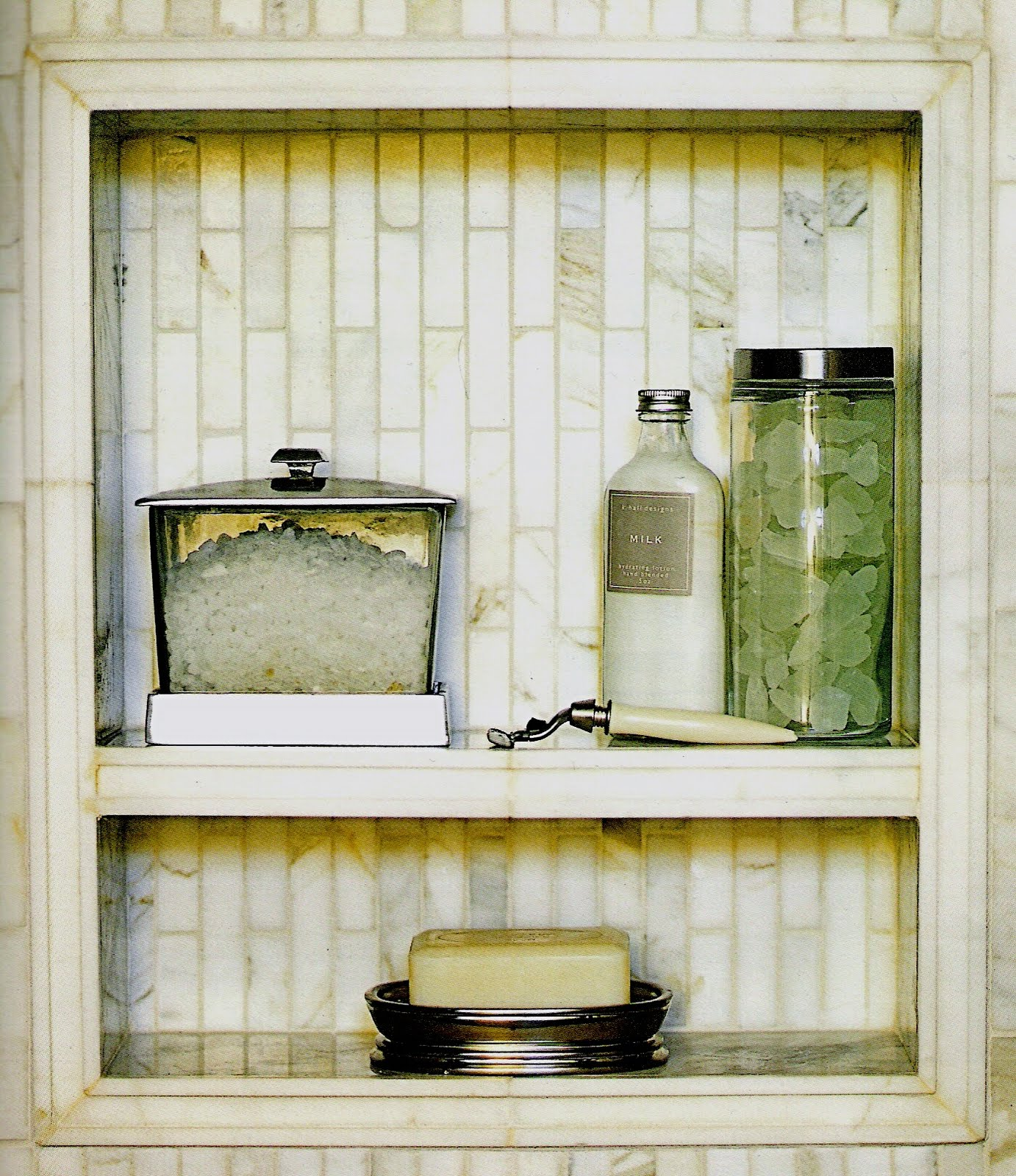 Design daily the shower niche for Bathroom niche design