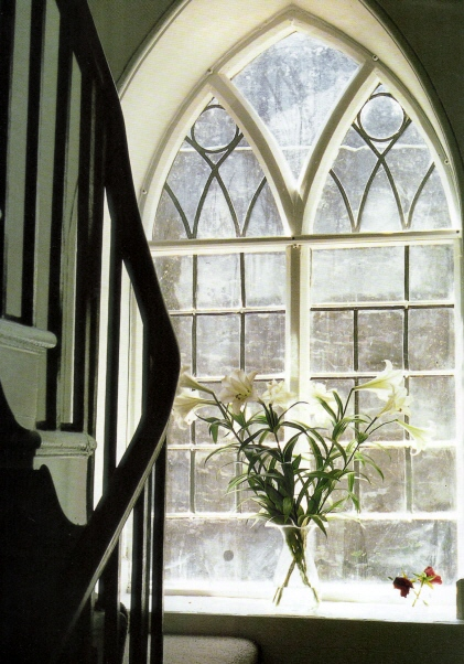 Gothic Window image via Côté Ouest as seen on linenandlavender.net