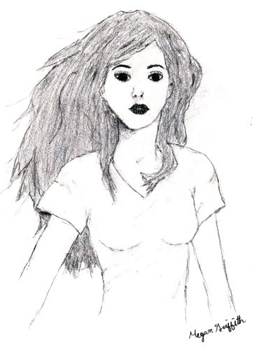 drawings and paintings girl
