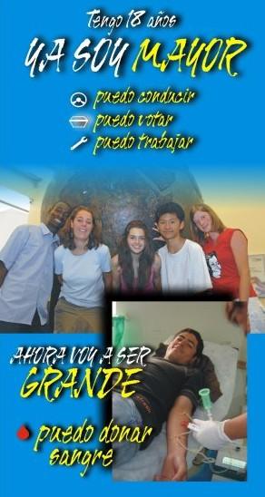 Campaña Captación Chicos con 18 años