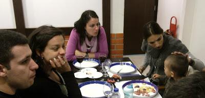 Jantar da Festa do Ano IV