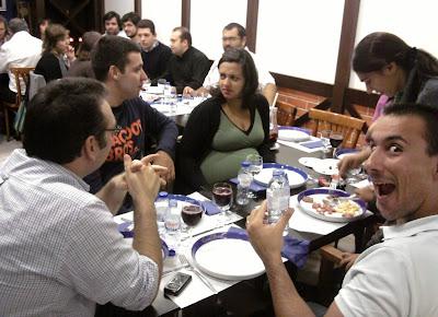 Jantar da Festa do Ano III