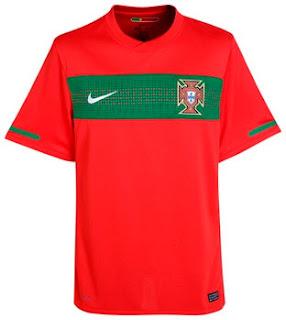 Portugal Home Shirt 2010/12
