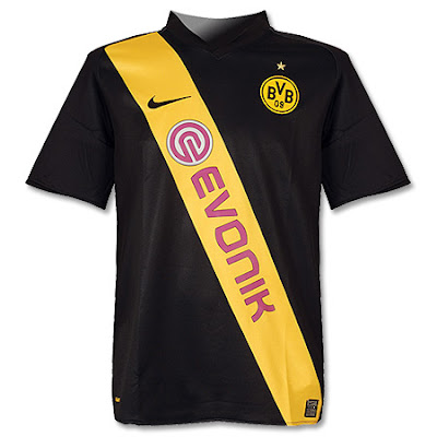 Borussia Dortmund Away Shirt 2008/09