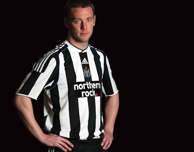Newcastle United Home Shirts 2009/10