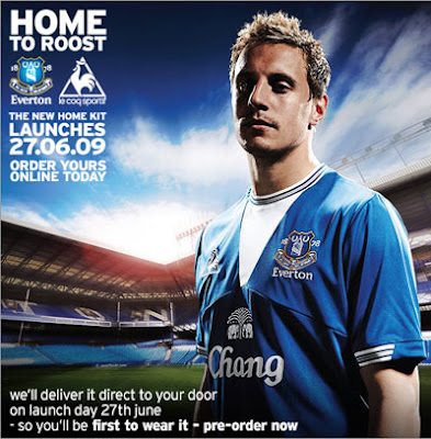 Everton Home Shirt 2009/10