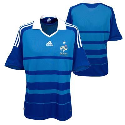 France Home Shirt 2008/10