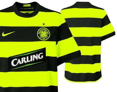 Celtic Away Shirts 09/11