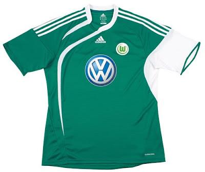 VfL Wolfsburg Home Shirt 2009/10
