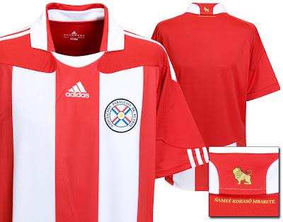 Paraguay Home Shirt 2009/10