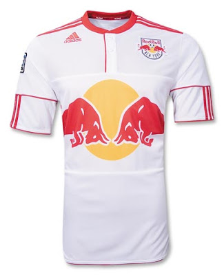 New York Red Bulls MLS 2010 Home Jersey