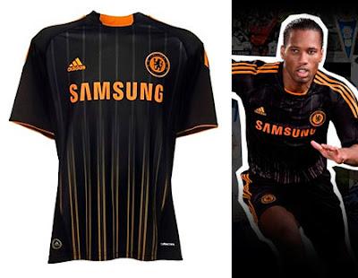 Chelsea Away Shirt 2010/11