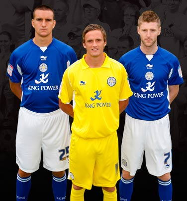 New Kits on The Blog: Leicester City F.C. 2010-11 Kit