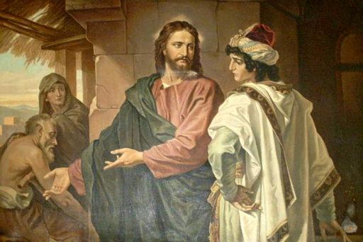 Jesús  y las riquezas Joven_rico