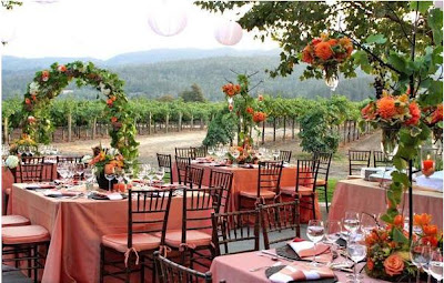 Napa Valley Wedding Venues on Venue Harvest Inn Napa Valley  Decor By Fleurs De France