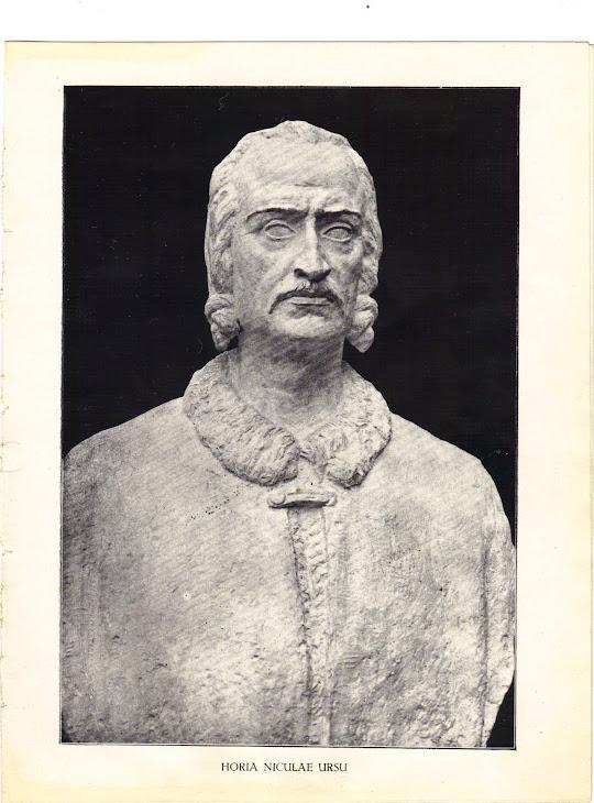 HORIA NICULAE URSU...opera sculptorului Mihail Onofrei după medalia unui autor vienez de epocă.