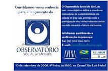 OBSERVATÓRIO SOCIAL SÃO LUÍS SETOR CULTURAL