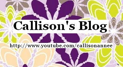 Callison's Blog