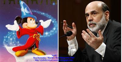 Ben Bernanke, Micky Mouse