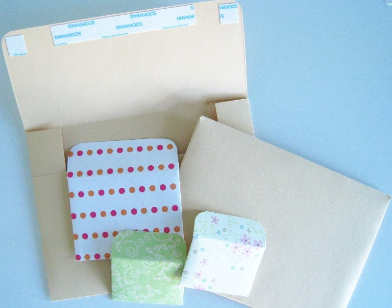 how to make a card and envelope