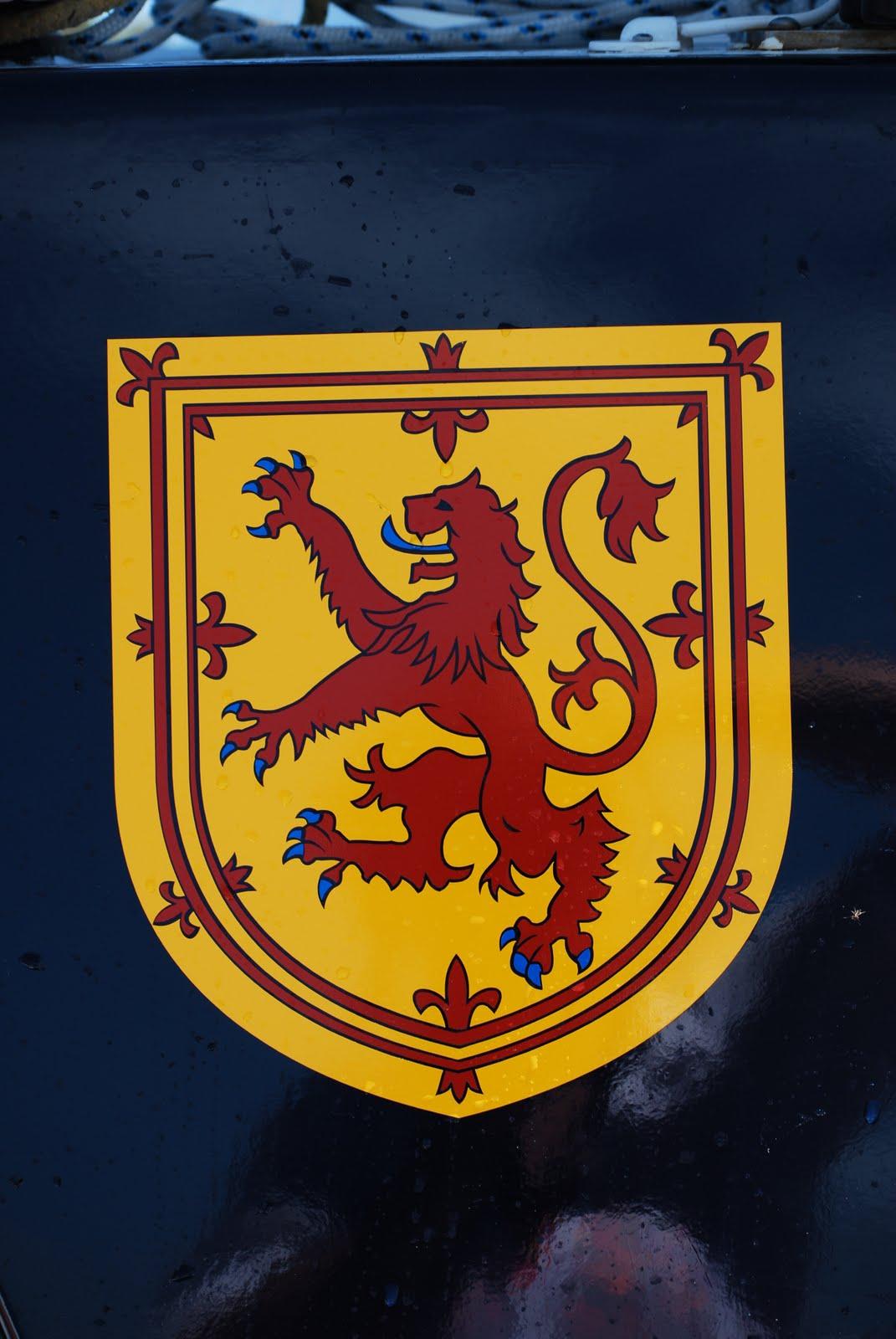 Scottish lion rampant the lion rampant crest on our