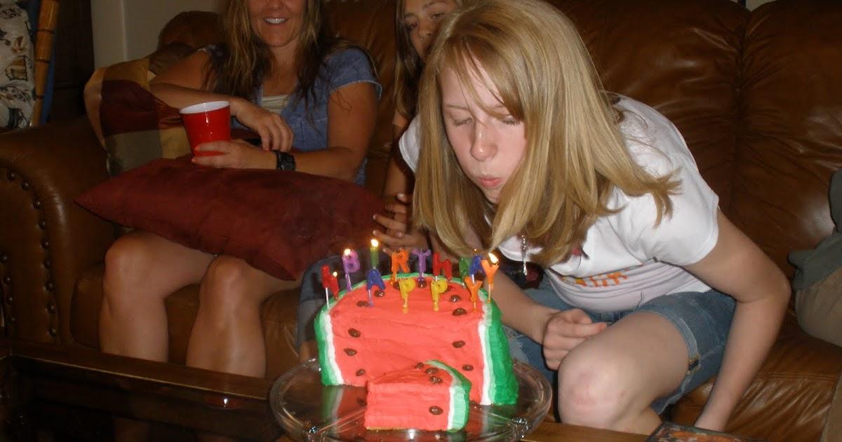 ... Slater: Annies 13th Birthday !,