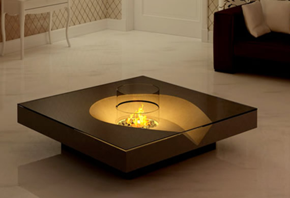 Modern Coffee Table In Image of Luxury