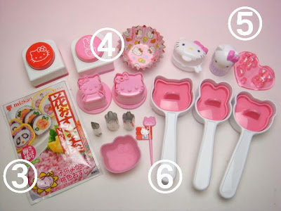 "Bento Lunch Box: "" Hello Kitty SAKURA PINK Shokado type Bento Box """