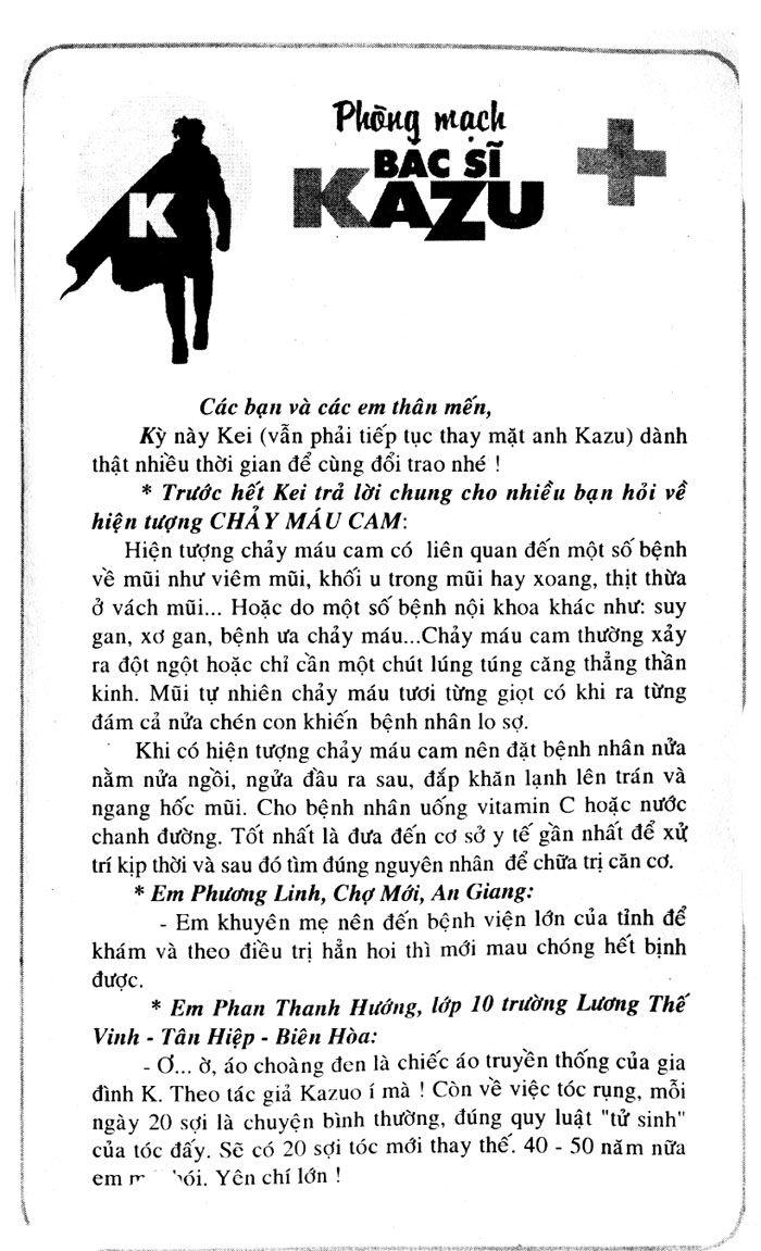 Kazu Doctor K (K2) chap 137 Trang 19 - Mangak.info