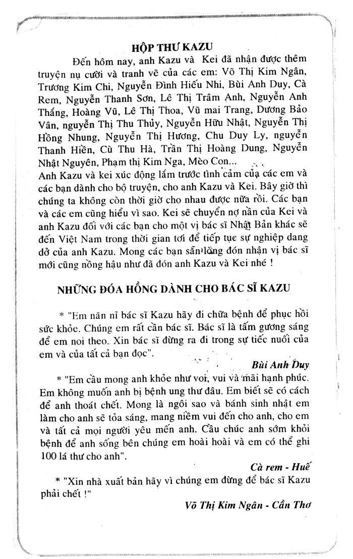 Kazu Doctor K (K2) chap 137 Trang 22 - Mangak.info