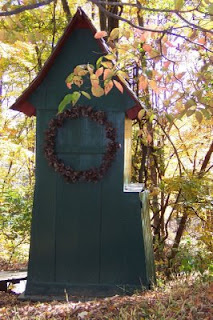 Lois de Vries' Garden Views: Outhouse Tool Shed