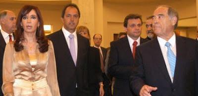 Cristina, Scioli, Pulti y Aldrey Iglesias
