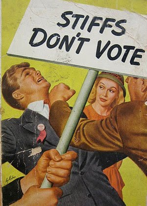 Don't be a stiff...vote