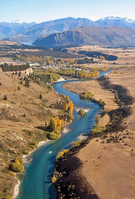 Upper Clutha and Albert Town, near Wanaka