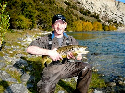 Fly Fishermen with Upper Clutha Brown