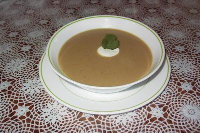 con esta sopa muy cubana cierro la semana dedicada a recetas de sopas ...