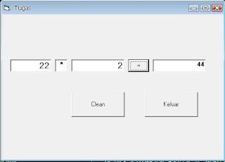 Membuat vb kalkulator dengan function Function