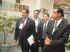Com o Ministro do Trabalho Carlos Lupi