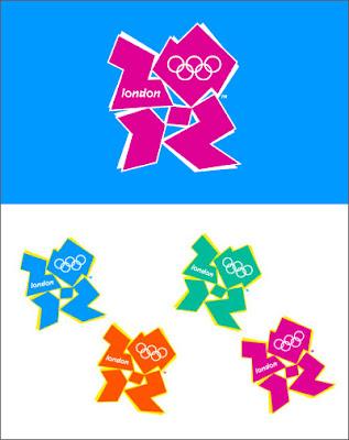 london 2012 logo lisa simpson. New farcical London 2012 logo