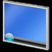 كيفيه اعادة ايقونه show desktop في شريط التشغيل السريع