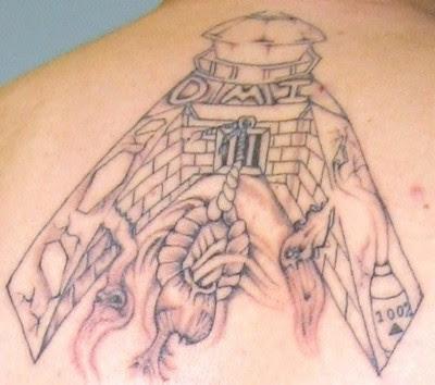 Prison Fence Tattoo