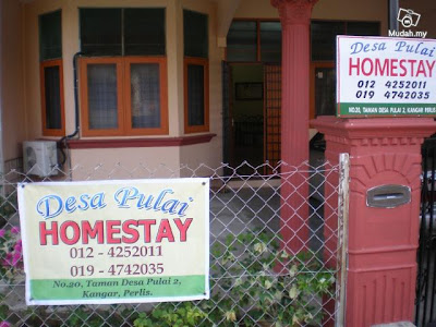 Homestay1malaysia Desa Pulai Homestay Perlis