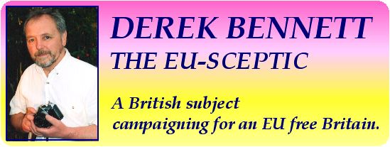 Derek Bennett The Euro Sceptic