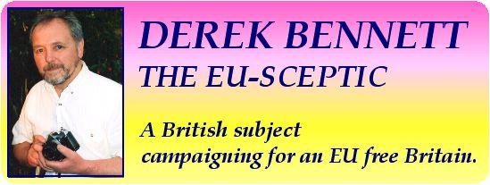 Derek Bennett The Euro Sceptic