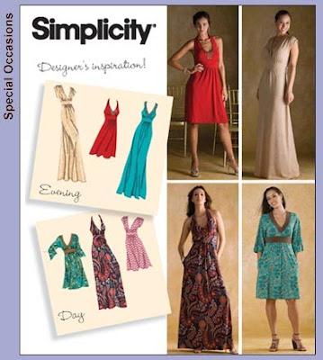Empire maxi dress pattern