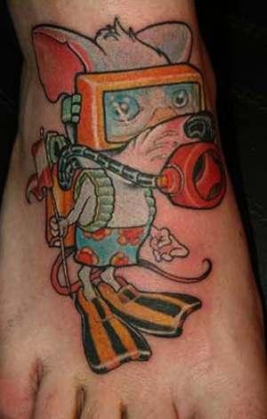 tattoo animal. are tattoo animals. tattoo